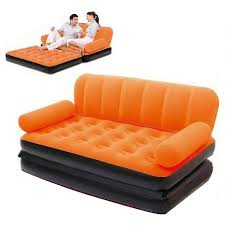 buy coloring lounge air sofa bed 5 in 1 with air pump in pakistan