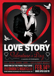 valentines flyer template s flyer template design for photoshop 100 customizable