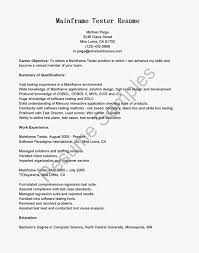 Example Of Resume Summary For Freshers Resume Sample For Fresher Software Tester Templates