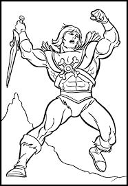 she ra coloring pages james eatock presents the he man and she ra blog february 2006