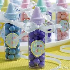 ideas for baby shower favors to make yourself clear plastic