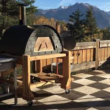 Backyard Pizza Ovens Large Portable Wood Fired Pizza Oven Prime Red Or Black U2013 My