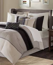 Madison Park Bedding Madison Park Palisades 7 Pc Comforter Sets Bed In A Bag Bed