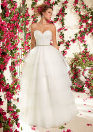 Vintage Ball Gown Strapless Tulle Wedding Dress With Detachable Duchess Satin And Tulle Ball Gown Wedding Dress Style 6831 Morilee