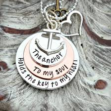 bible verse jewelry the anchor to my soul holds the key to my heart hebrews 6 19