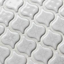 porcelain tile backsplash kitchen 3d mosaic white porcelain tiles backsplash kitchen wall tiles