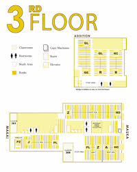 Floor Plan For Classroom by Floorplans University Of Hawaii At Manoa Library