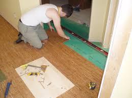 decor ceramic tile floors pros and cons cork flooring throughout