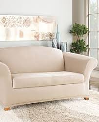 What Is At Cushion Loveseat Couch Covers Sofa And Chair Slipcovers Macy U0027s