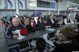 Ticket Desk Bbc In Pictures Bristol Airport Shut By Volcanic Ash