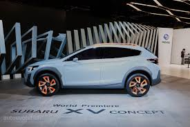 subaru crosstrek 2016 hybrid 2017 subaru xv crosstrek previewed by this rugged concept in