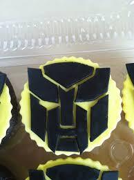 bumblebee transformer cake topper transformers toppers bumblebee transformer cupcakes party transformers