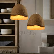 Shabby Chic Pendant Lighting by Chic Cement And Resin Small Pendant Lights