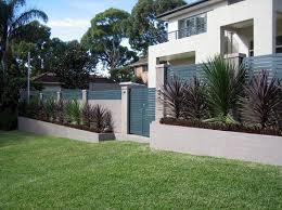 contemporary garden fence ideas home improvement ideas