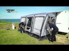 New Caravan Awnings Vango Airbeam Varkala Inflatable Caravan Awning In Our Tamworth