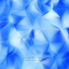 cobalt blue polygon pattern background 123freevectors