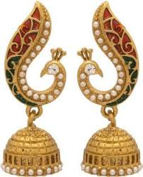 jhumka earrings jhumka earrings buy jhumki online at best prices flipkart