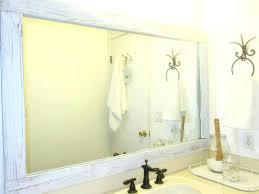 bathroom mirror replacement bathrooms design wall mounted bathroom mirror custom frameless