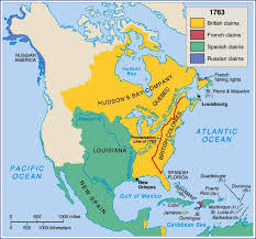 Manifest Destiny Map How Did The Treaty Of Paris Divide Land In North America Socratic