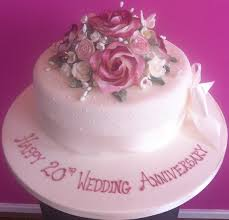 20th wedding anniversary 20th wedding anniversary 0 00 occasion cakes info