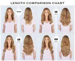 clip in hair extensions before and after what length should i buy hair clip in extensions