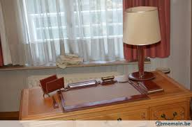 parure de bureau parure de bureau en cuir en très bon état a vendre 2ememain be