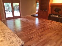 Hardwood Floor Living Room American Cherry Wood Flooring Floor Crafters Boulder
