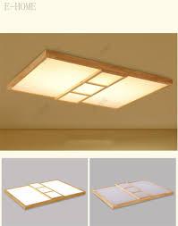 Wohnzimmerlampe Holz Moderne Einfache Schlafzimmer Führte Japanische Holz Wohnzimmer