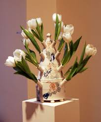 Floral Vases And Containers Tulip Vases And Trivets Contemporary Ceramics By Sanam Emami
