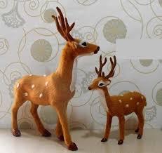 realistic looking deer decor deer toys spotted deer