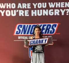 Snickers Commercial Meme - snickers you re not you moves on the stable