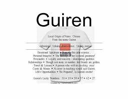 guiren name means valuing benevolence namemeans net