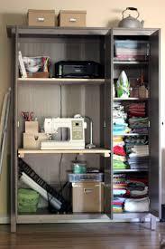 ikea hack u2013 wardrobe to sewing room homespun haley