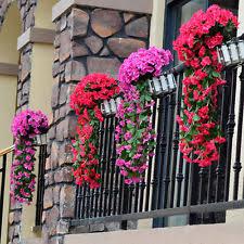 artificial hanging baskets home u0026 garden ebay