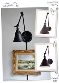 round up of our favorite plug in swing arm wall lights good bones