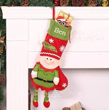 penguin monogrammed christmas stocking personalized christmas