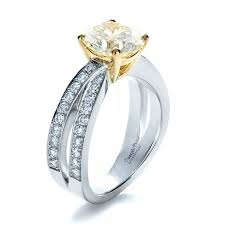 canary engagement rings custom canary engagement ring 1225