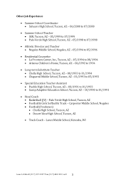 Resume Summer Job by Leon G Kittrell Updated Resume 11 14