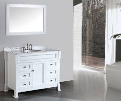 inch contemporary white bathroom vanity marble top