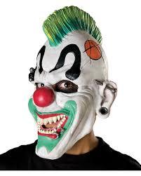 punk clown mask halloween horror clown mask horror shop com