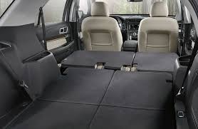 ford explorer trunk space does the ford explorer 3rd row seating