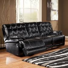 Black Recliner Sofa Set Black Leather Recliner Sofa Finelymade Furniture