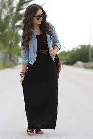 posts post black maxi dress jean jacket my