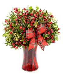christmas plants merry christmas greetings at from you flowers