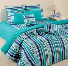 bedroom fantastic design for bedroom decoration with stripe blue
