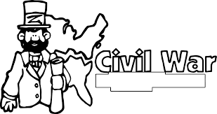 american revolution reconstruction banner civil war coloring