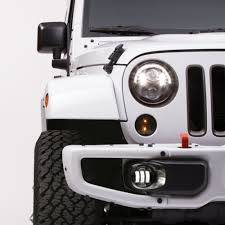 Jeep Led Lights Jeep Led Lights Model 8700 Evolution J2 Off Road Headlights