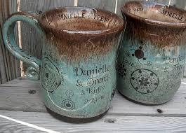 personalized stoneware mugs crafted custom coffee mugs by