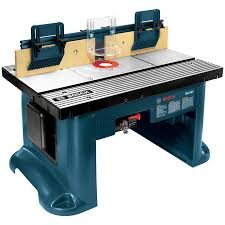 bosch router table lowes shop bosch 15 amp adjustable router table at lowes com