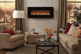 fireplace electric flat panel wall mount fireplace heater best